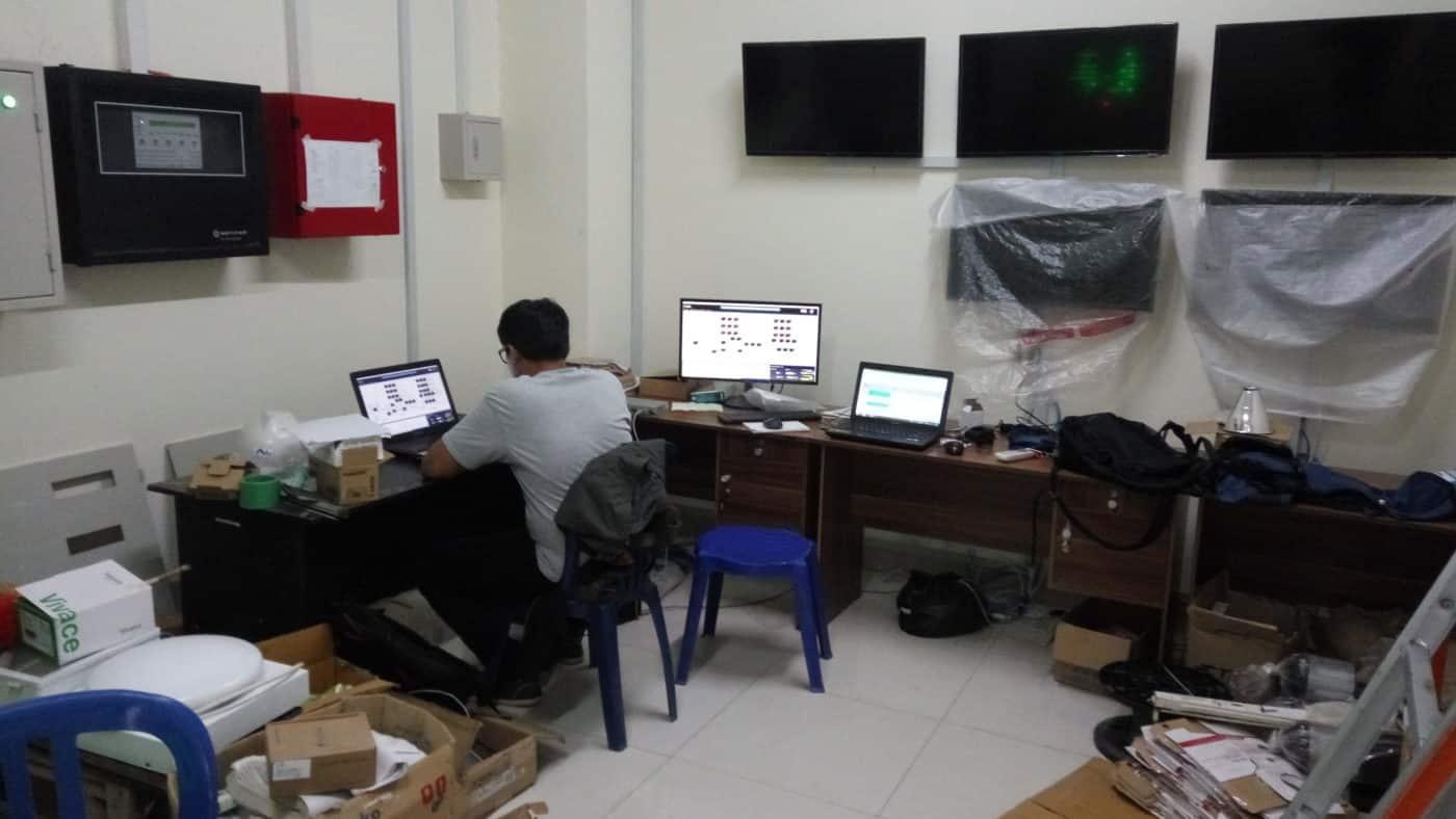 Building monitoring system jasa program plc indonesia programming services ugm2