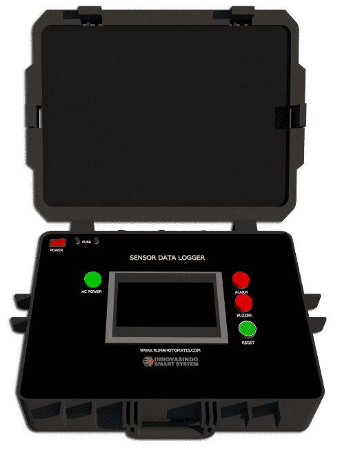 Oil gas data logger monitoring control system PLC HMI upload online 1